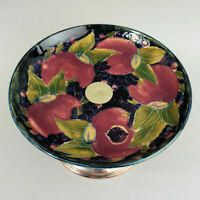 MOORCROFT ART POTTERY & SILVER PLATED POMEGRANATE DESIGN COMPORT C.1920