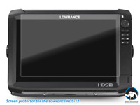 Anti glare Screen Protectors for Lowrance HDS 12 Carbon Fishfinder 2pcs