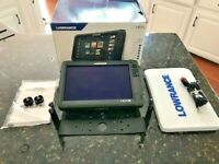 Lowrance HDS 12 Carbon GPS / Fishfinder with Insight Charts - Excellent