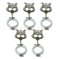 5pcs Metal Plated Clarinet Marching Lyre Sheet Clips Holder Instrument Parts