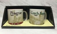 Starbucks Set of 2 Demitasse Prague & Czech Republic 3oz
