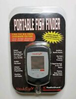NEW Hawk Eye Portable Fish Finder 50ft Depth Audible Alarm 20ft Sensor Cable