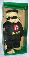 Texaco Racing Bear Speedy in Havoline Racing Suit  17.5