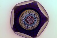 A Magnum Whitefriars  PO 301 Millefiori overlay paperweight - uncatalogued