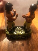 Staffordshire Figures Spring and Langan Bare Fist Boxers of 1824 E11 Vintage