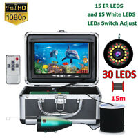 7 inch LCD 1080P Night Vision Underwater Fishing Camera Ice/Sea/River Fishing