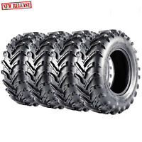 New VANACC KT ATV Four Wheeler Front Rear Tires (4)Set 2 25x10-12 and 2 25x8-12
