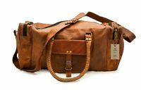Bags Weekend Overnight Duffle Men's Large Leather Vintage Travel Gym Bag