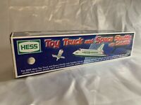 1999 HESS Toy Truck and Space Shuttle with Satellite NIB