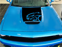 Dodge Challenger Bulge Hood Decal 2015-2019 Wide Body Hell Cat Hell Cat Car GT