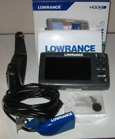 Lowrance HOOK-7 Combo Chirp Fishfinder w/HDI Transducer, Cover & Lake Insights