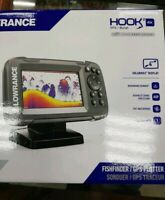 Lowrance HOOK2 4x Bullet Transducer and GPS Plotter Fishfinder