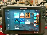 Lowrance HDS 12 Carbon GPS / Fishfinder / Charts