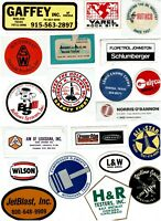 Collectible Hard Hat Oilfield Advertising Stickers Lot #35 20 Different Stickers