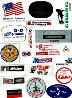 Collectible Hard Hat Oilfield Advertising Stickers Lot #31 20 Different Stickers