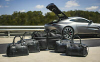 Genuine Aston Martin Vantage 7 Piece Luggage Set Black & Blue Part# 707407
