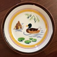 EXTREMELY RARE Stangl ~COUNTRY LIFE~ Coupe Soup BOWL ~2 DUCKS~ 1950's Farm EUC