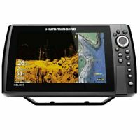 Humminbird Helix 9 CHIRP Mega DI+ GPS G3N basemap,Xducr,  w/Network Capable
