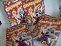 4 Chuck E Cheese Pizza Celebrate Kid Party Pack Birthday