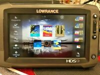 Lowrance HDS 9 Touch Insight GEN 2 GPS / Fishfinder Excellent Condition