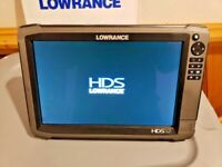 Lowrance HDS 12 GEN 3 GPS / Fishfinder with Totalscan Tranducer