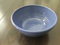 N.C. Art Pottery 1998 Serving Bowl Bobby Ray Marsh Pottery Cobalt Blue