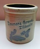 Rockdale Stoneware Crock Downers Grover Illinois 1995 Collectible Advertisement