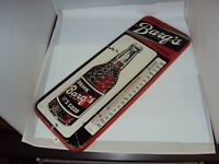 VINTAGE BARQ'S ROOT BEER THERMOMETER 25