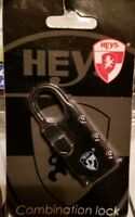 1 HEYS + 1 GUARD SECURITY COMBINATION LOCKS for Luggage Suitcase Travel Bag. New
