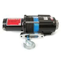 Kimpex Electric Winch 4500 lb Synthetic Wire Rope 42' 12V Towing w/Accessories