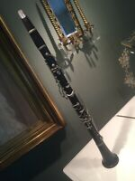 Rare Antique French Edmond Chedeville Bb HP Clarinet  Made In Paris Early 1900s