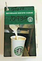 *Very Rare* Impossible to Find Starbucks Issued Beverage Recipe Cards from 2008