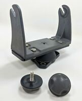 Lowrance Eagle LEI GB-14 Mounting Bracket with Knobs w/ Johnnie Ray Swivel Mount