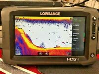 Lowrance HDS 9 Touch Insight GEN 2 GPS / Fishfinder with Transducers
