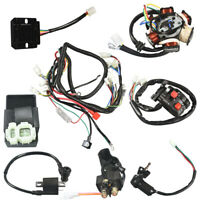 GY6 150cc ATV Go Kart WIRE HARNESS ASSEMBLY CDI Switch Electric New Part