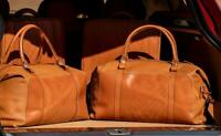 Genuine Aston Martin DBX Luggage set of 4 OEM Brand NEW Holdalls Leather