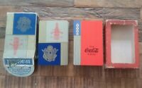 Vintage 1939 Coke Coca Cola Playing Cards & 1939 ROYAL CROWN Cola playing cards
