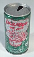 Vintage Kickapoo Joy Juice Soda Pop Can Steel Blue Grass Coca Cola Lexington KY