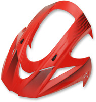Icon Adult MX ATV Visor for Variant Helmets Double Stack Red