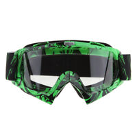 ATV Goggles Motorcycle Goggles Over Glasses for Adult Youth Dirt Bike Motocross