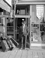 1937 Luggage Store Grand Forks ND Vintage Old Photo 8.5quot; x 11quot; Reprint