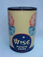 Vintage Wise Potato Chip Can, Tom's Peanut Jar Store, Lance, Gordon's