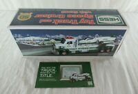 Hess 50th Anniversary Collectible Toy Truck & Space Cruiser with Scout 2014 MIB