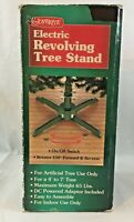 New in Box Rotating Revolving Christmas Tree Stand for 7 ft Artificial Tree