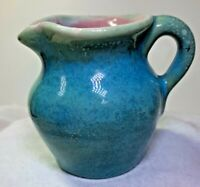 PISGAH FOREST SMALL CREAMER  SIGNED STEPHEN WITH POTTER MARK 2 1/2