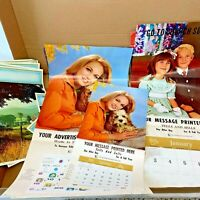 Lot 34 Vintage 1970s Printers Stock Photos for Advertising Calendars Samples PS