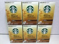 Starbucks Caramel Keurig K Cup Pods Medium Roast 64 Count MAY 2020