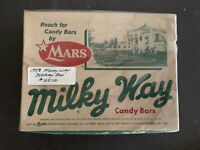 MILKY WAY 1958 Empty Candy Box 24 Count
