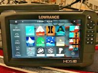 Lowrance HDS 9 Carbon Fishfinder GPS Charts