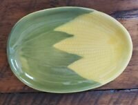 Shawnee Corn #68 Oven Proof Plate Made in USA 10quot;